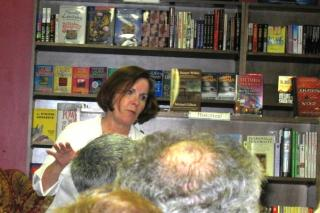Murder on the Beach Signing